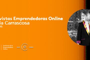 Video Entrevista Emprendedoras Online - Ángela Carrascosa de A+BLAZERS